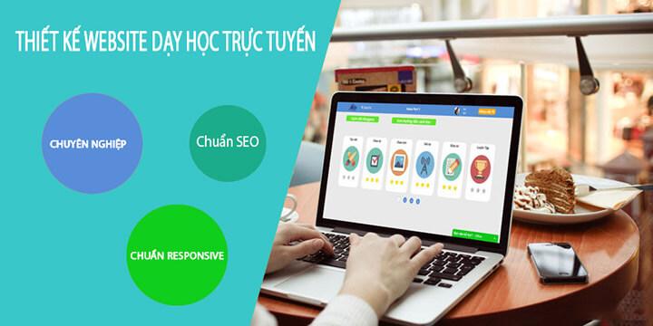 Thiết kế website học trực tuyến giúp mang lại một môi trường học tập chuyên nghiệp