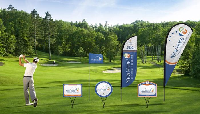 Kinh nghiệm thiết kế Maquette quảng cáo tại sân golf độc đáo