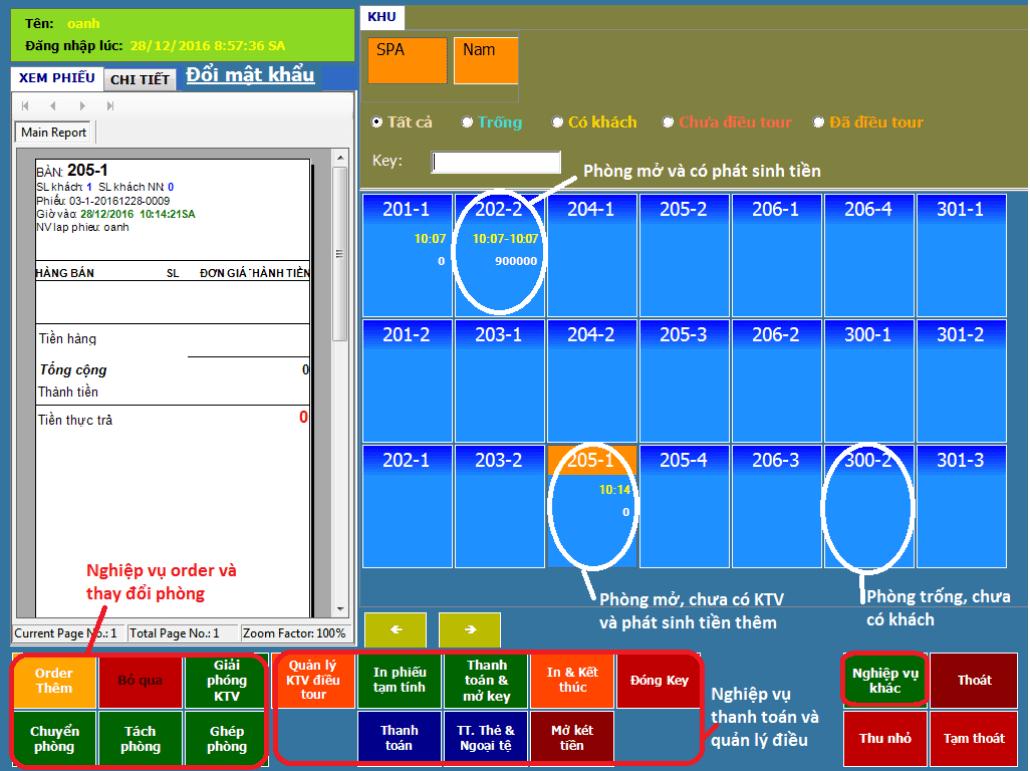 phần mềm quản lý spa miễn phí