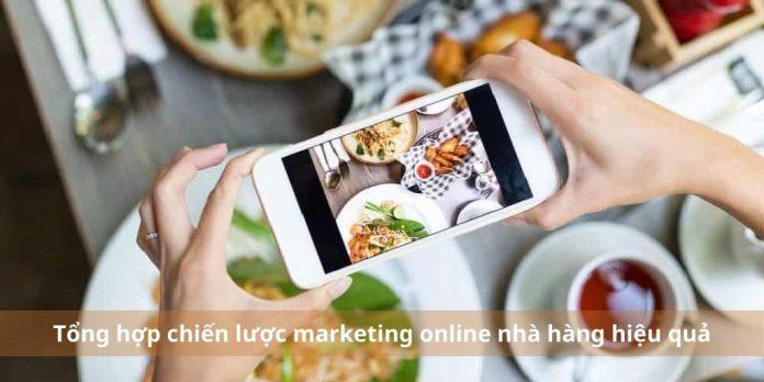 Tổng hợp chiến lược marketing online nhà hàng khách sạn hiệu quả