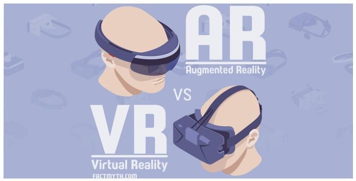 công nghệ AR và VR